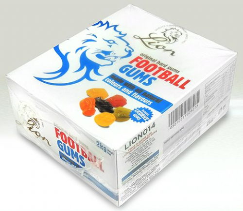 L85 LION FOOTBALL GUMS